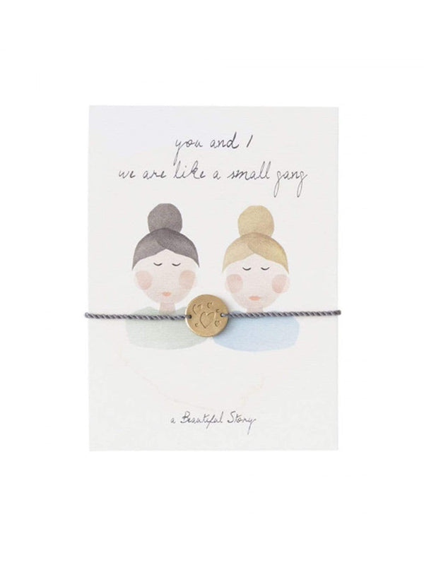 a beautiful story Womens jewellery Jewelry postcard friends