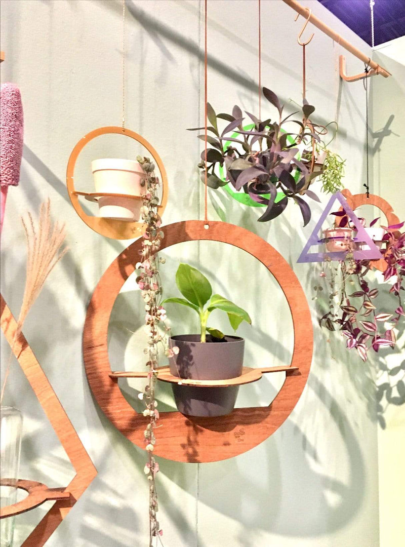 all things we like Plant hanger - wood diamond 50 cm