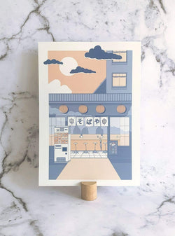 ano studio Stationery Mini print soba ya