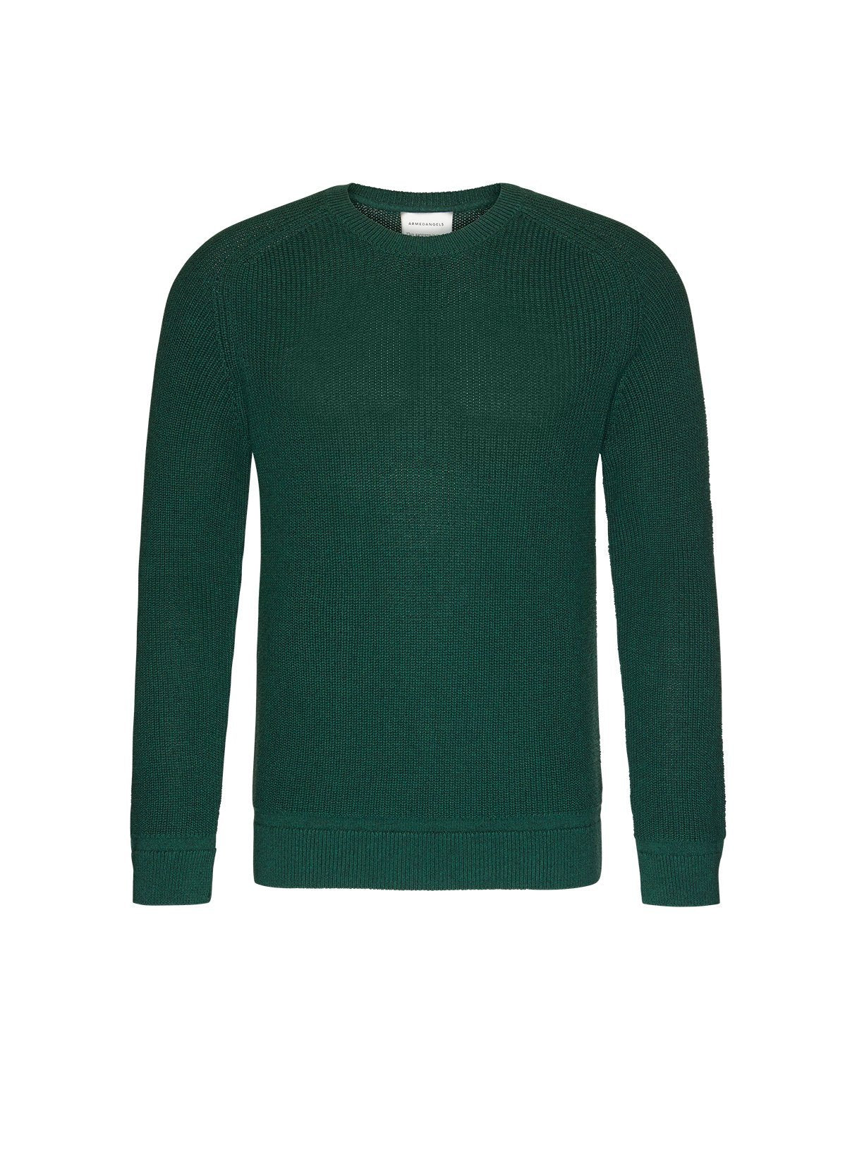 Aandri - sweater - college green melange