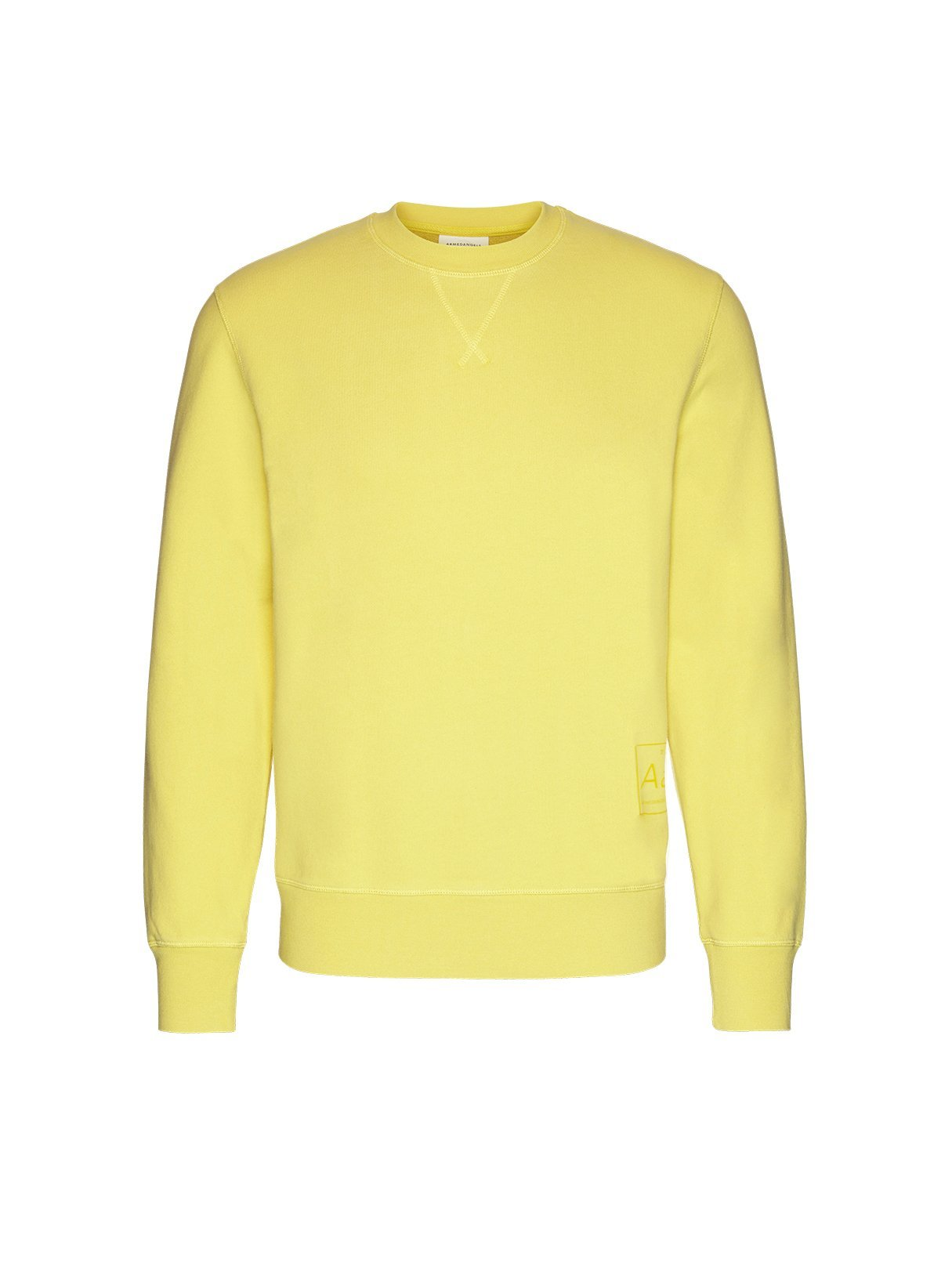 Silvaan - sweater - lemon yellow