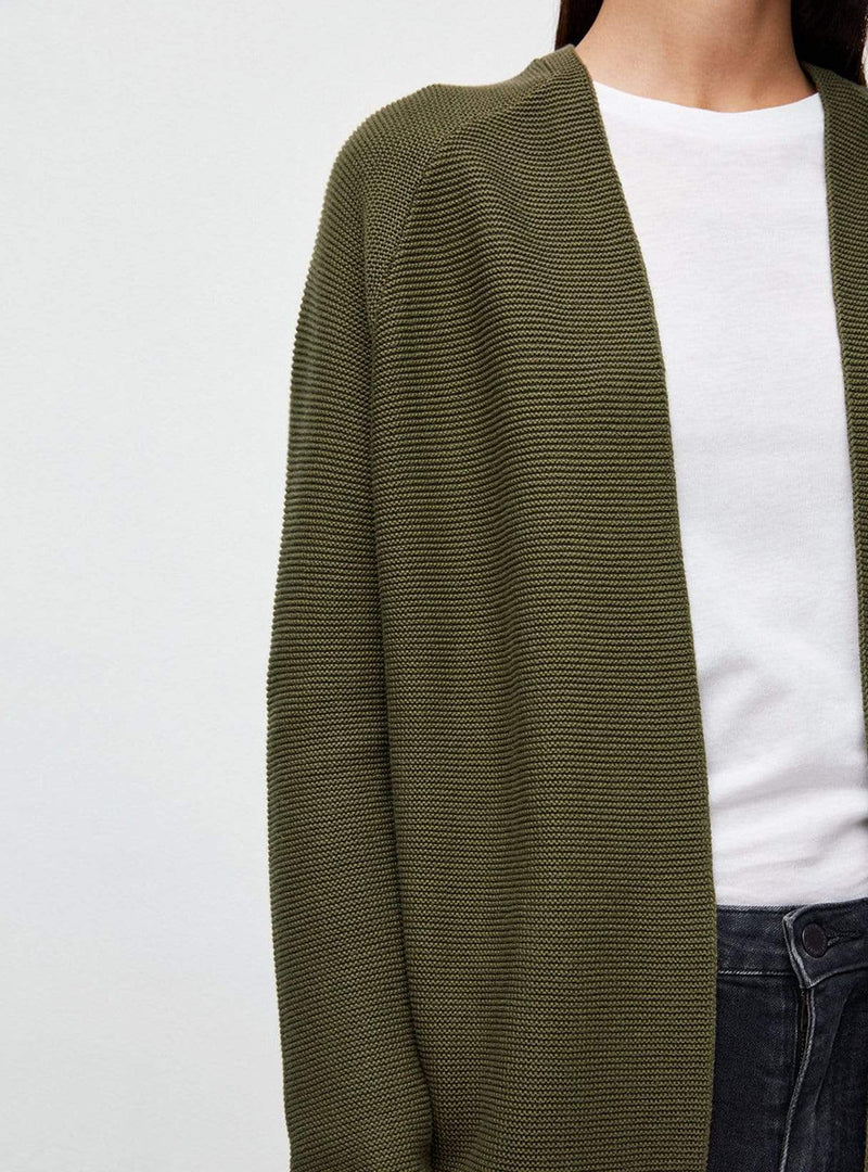 ArmedAngels cardigan Maschaa - knitted cardigan - moss green