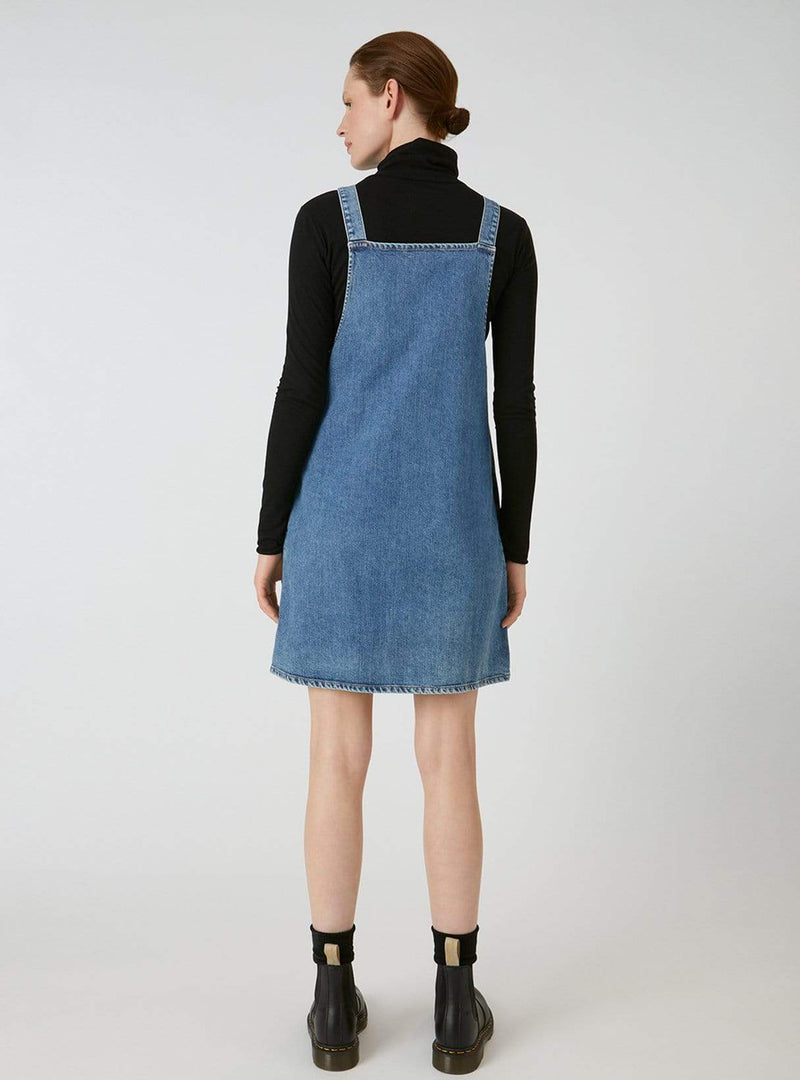 ArmedAngels dress Dainaa - denim dress - light stone wash