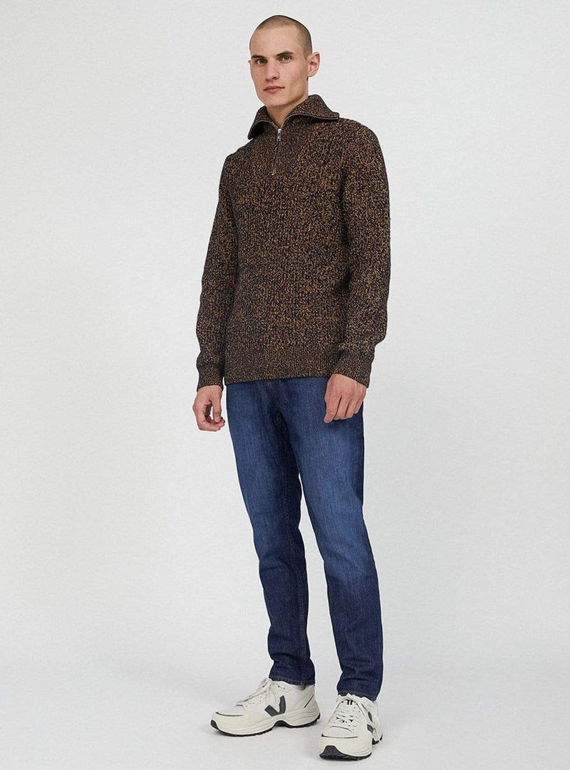 armedangels Mens sweaters Arkaa - knitted sweater - mustard yellow