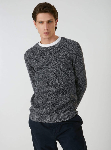Michaal - knitted pullover - navy