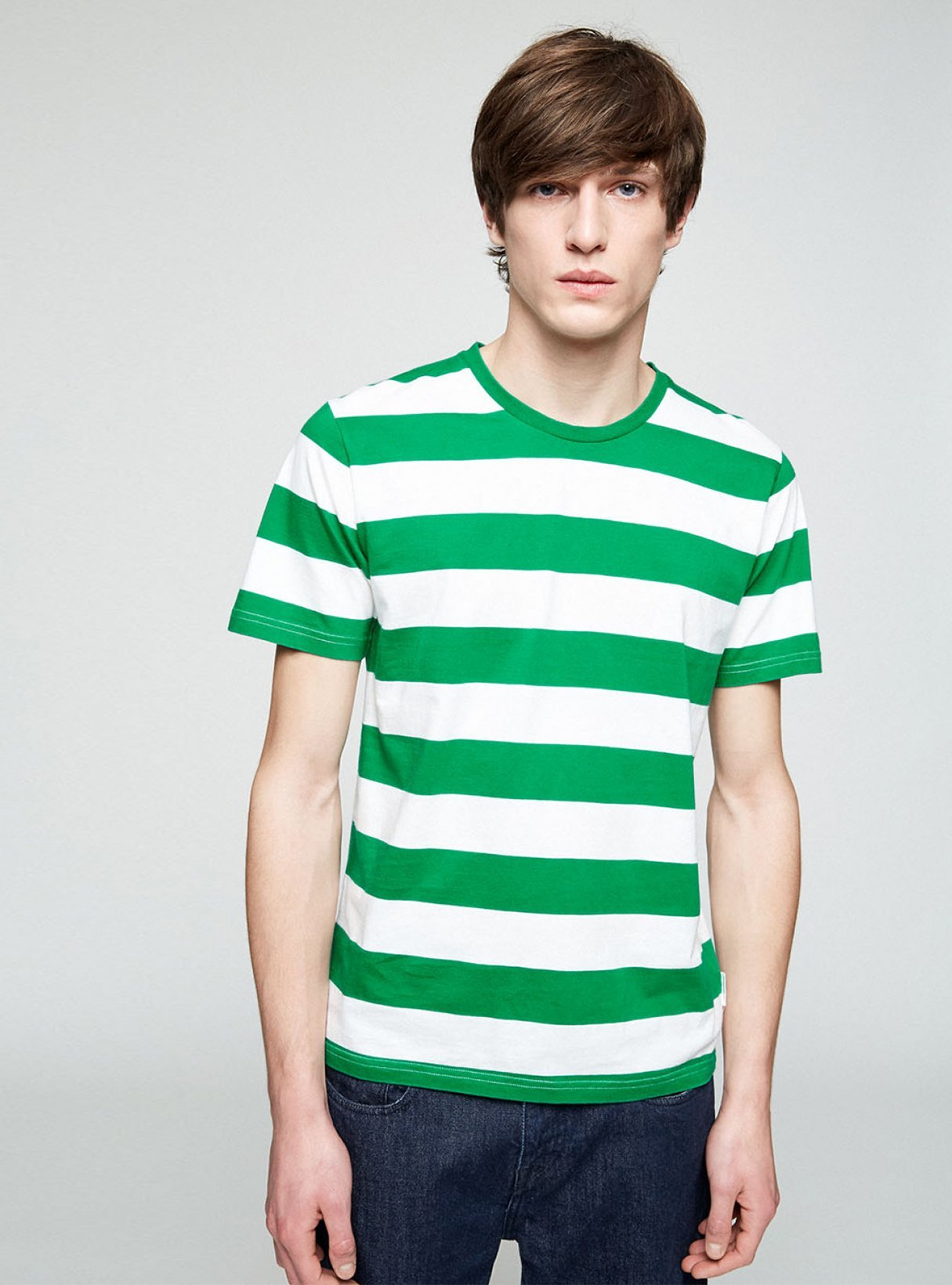 Enaas - t-shirt - basil green