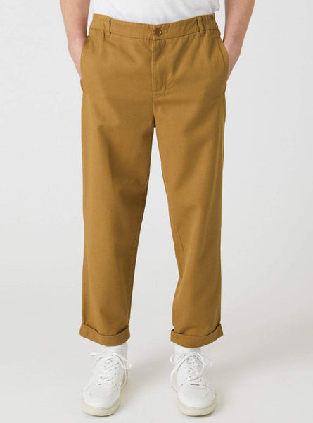 Taadeus - chino pants - argan brown