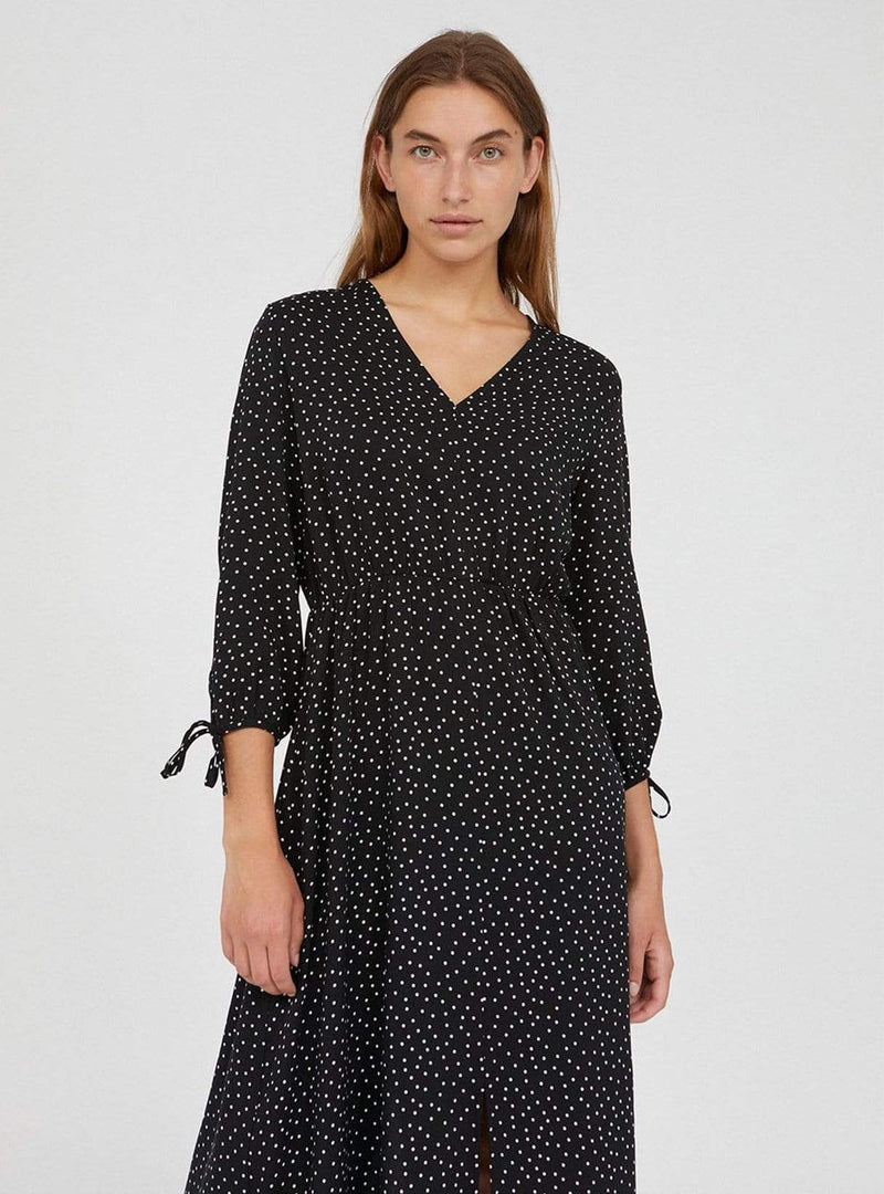 Weilaan easy dots - dress - black