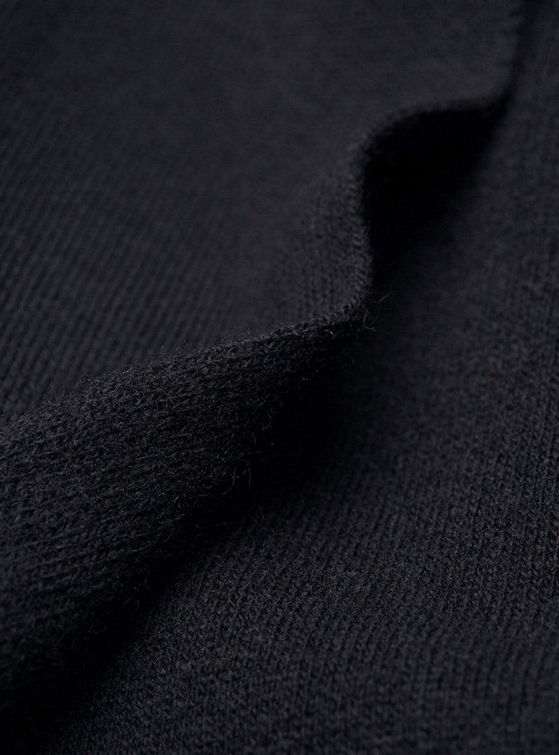 Sevaal - knit coat - black