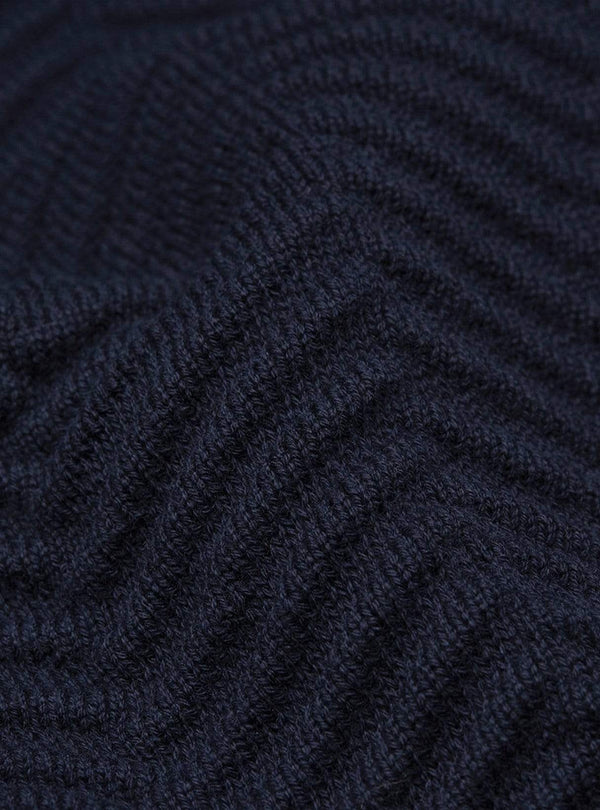 armedangels Womens sweaters Heringaa - knitted sweater - depth navy