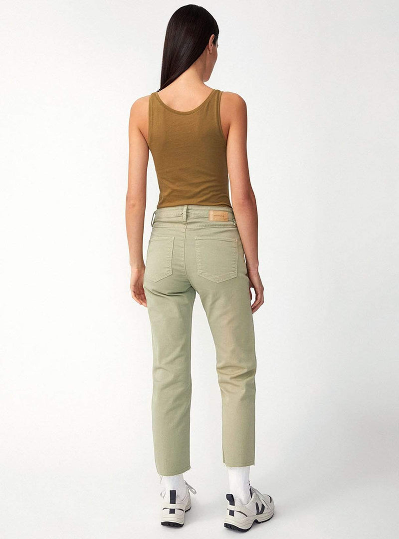 ARMEDANGELS Womens tops Beaa customized - top - golden khaki
