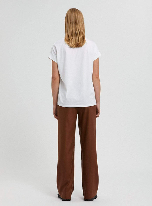 armedangels Womens trousers Nagisaa - trousers - cacao