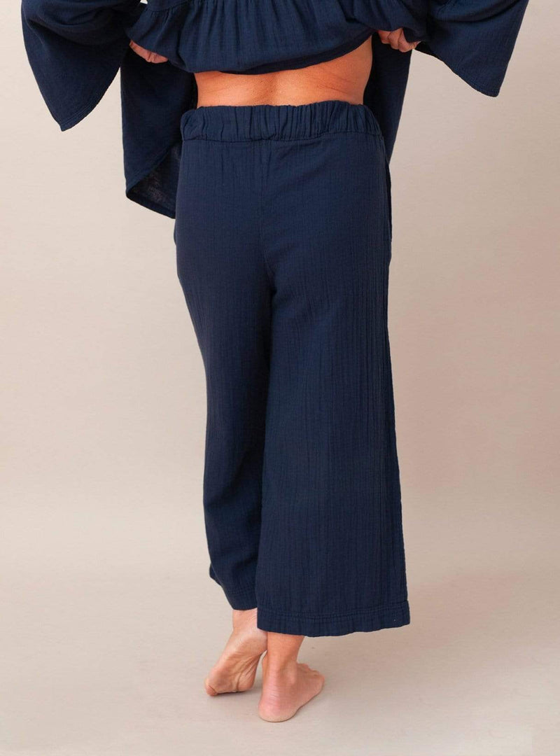 Evora - trousers - deep indigo