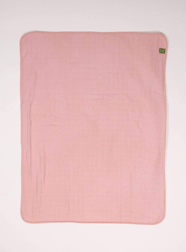boro*mini Kids accessories Baby blanket - madder-uni
