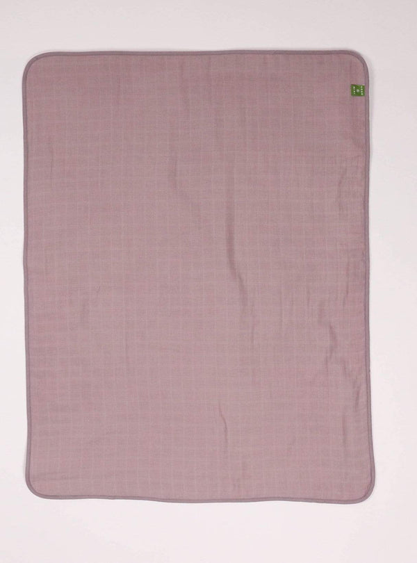 boro*mini Kids accessories Baby blanket - sunny grey-uni