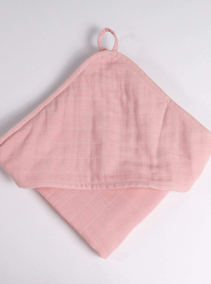 boro*mini Kids accessories Hooded towel - madder-unit