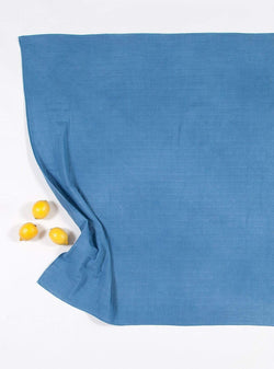 boro*mini Kids accessories Swaddle - indigo blue-uni