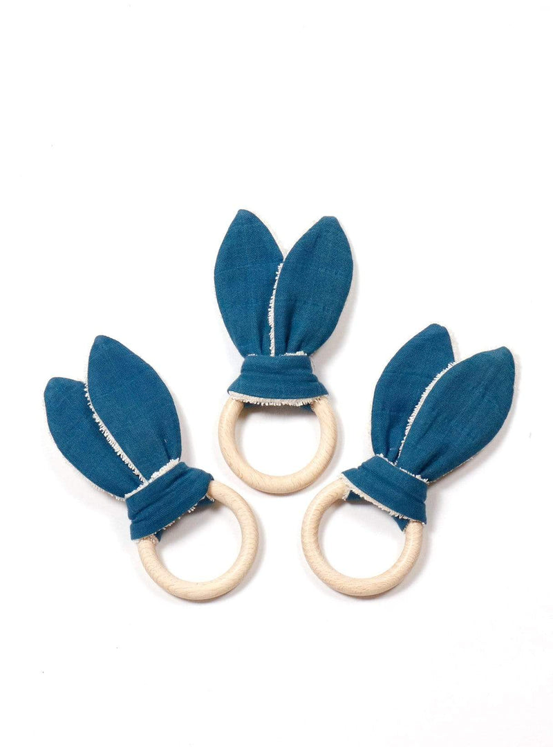Teething ring - indigo dark blue