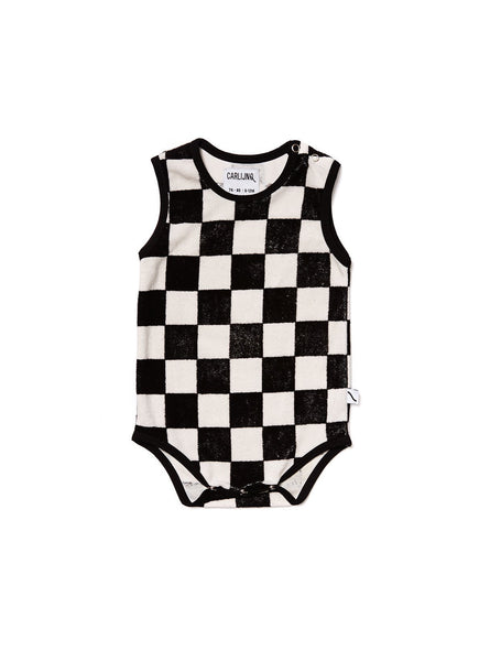 Checkers - romper no sleeve