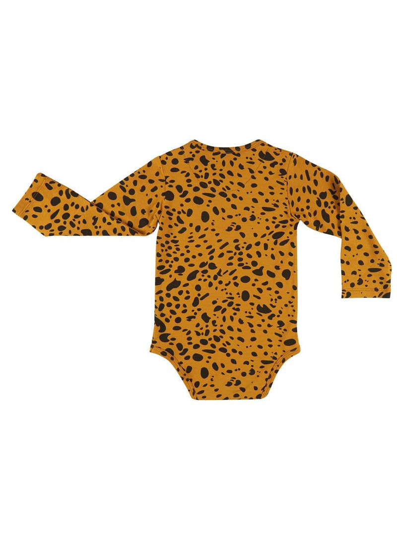 CarlijnQ baby 50/56 Spotted animal - bodysuit