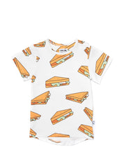 Sandwiches - t-shirt drop back