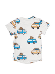 Road Trippin' - t-shirt drop back