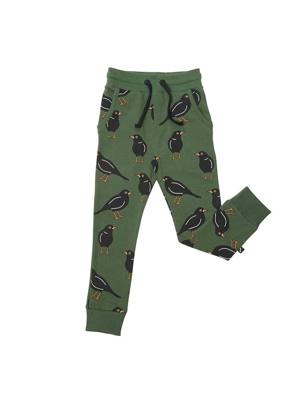 CarlijnQ baby Black bird - sweatpants