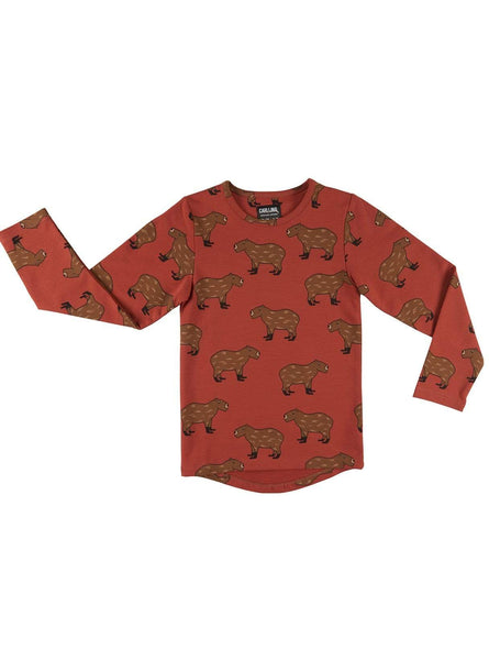 Capibara - longsleeve drop back