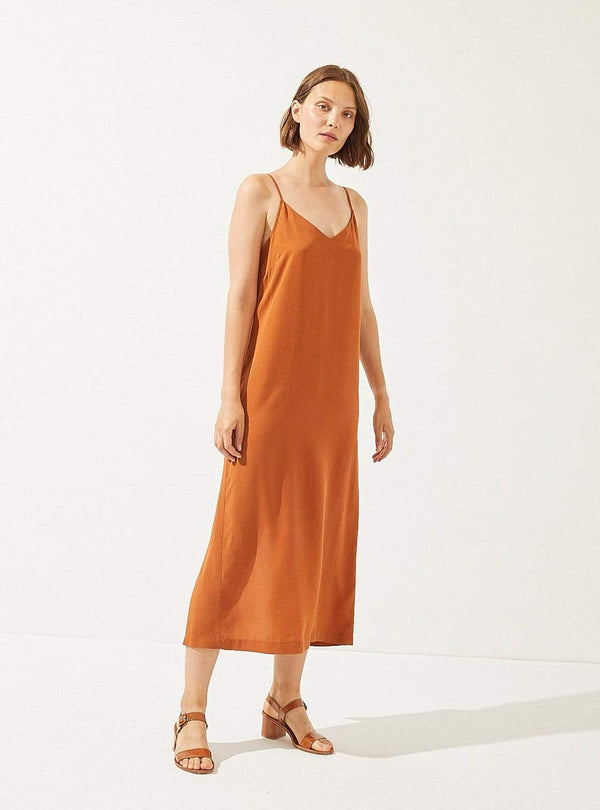 cus Womens dresses Junonia - dress - rooibos