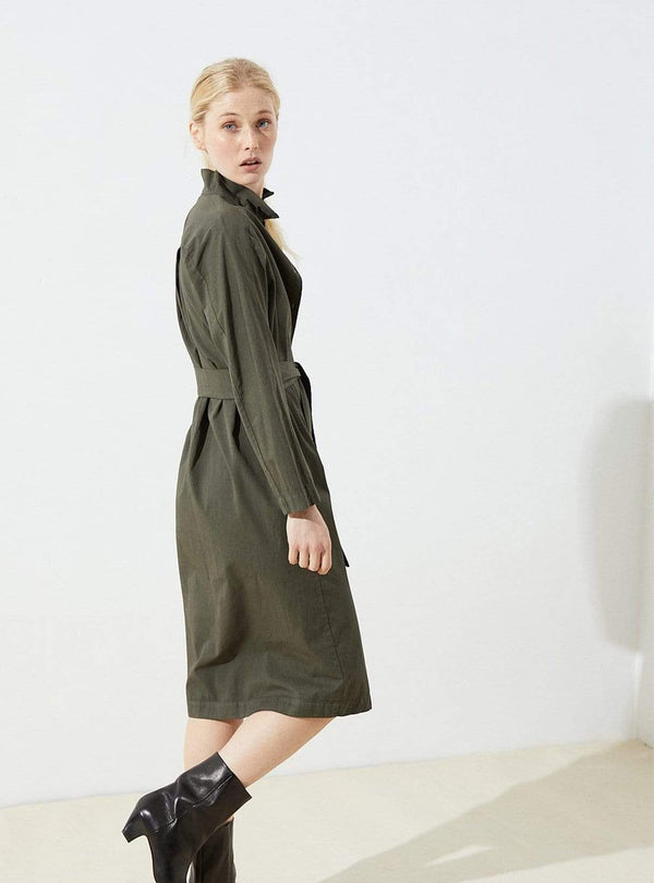 cus Womens dresses Karlek - dress - khaki