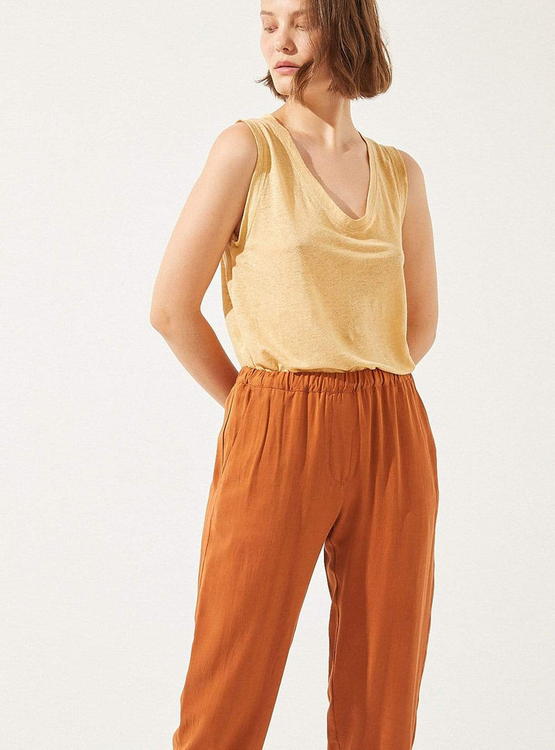 cus Womens trousers Zerith - trouser - rooibos