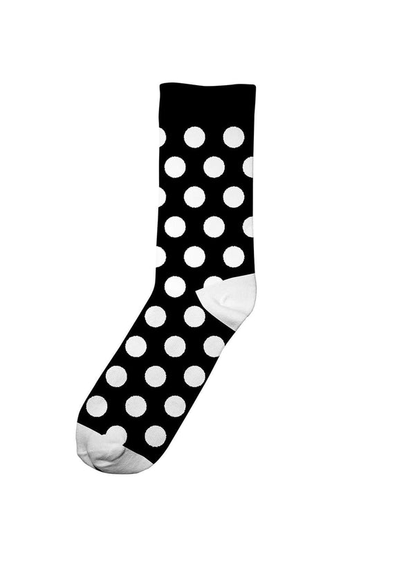 Dedicated socks 41-45 Sigtuna dots - socks - black