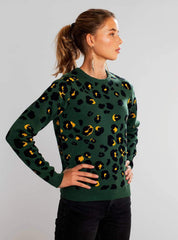 Arendal lynx - sweater - green