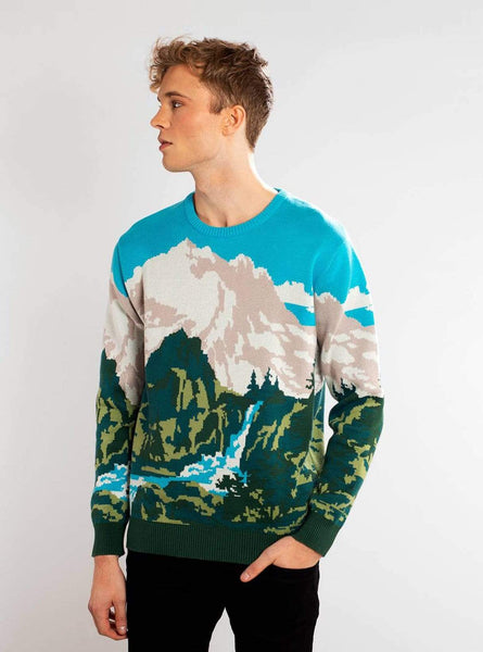 Mora landscape - sweater - multicoloured