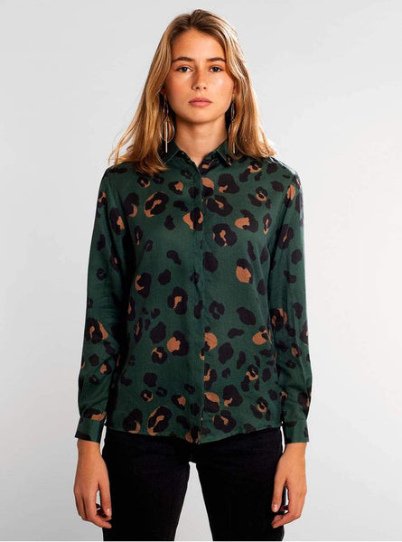 Dorothea lynx - shirt - green