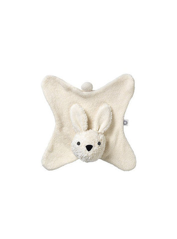 Anika rabbit cuddle cloth - creme/white