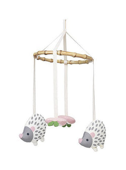 Franck & Fischer baby Fly hedgehog baby mobile - white