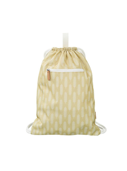 Havre - swimbag - oker/white