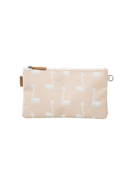 Swan - toilet bag - white/soft pink