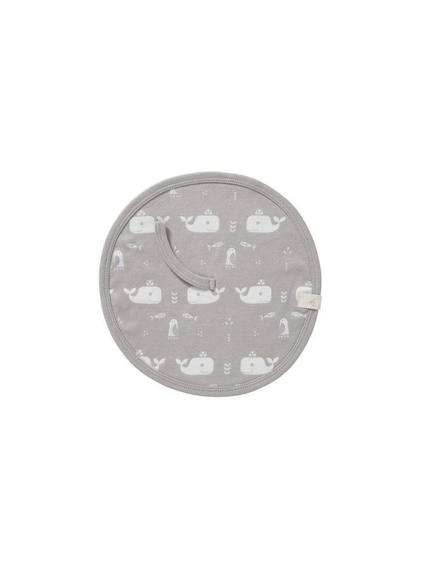 Fresk kids Whale - pacifier cloth - dawn grey