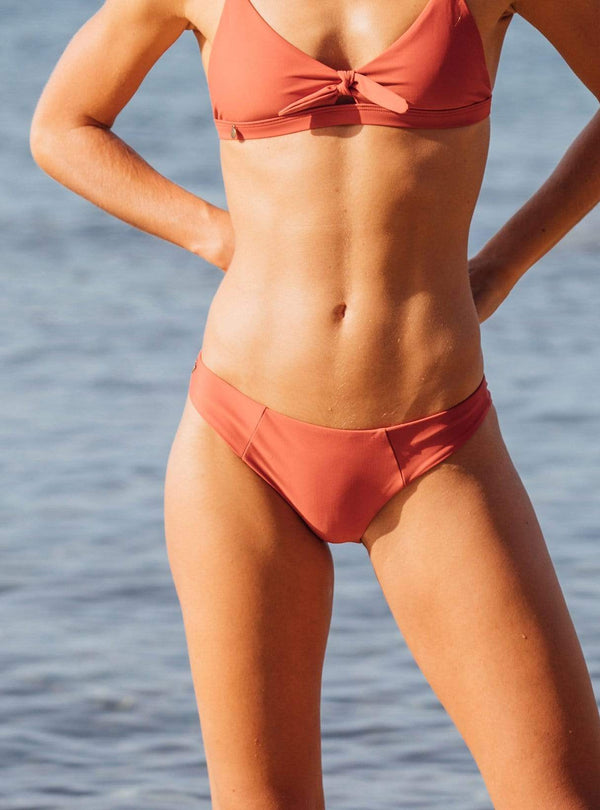 hans method Swimwear The everyday bikini bottom - rust
