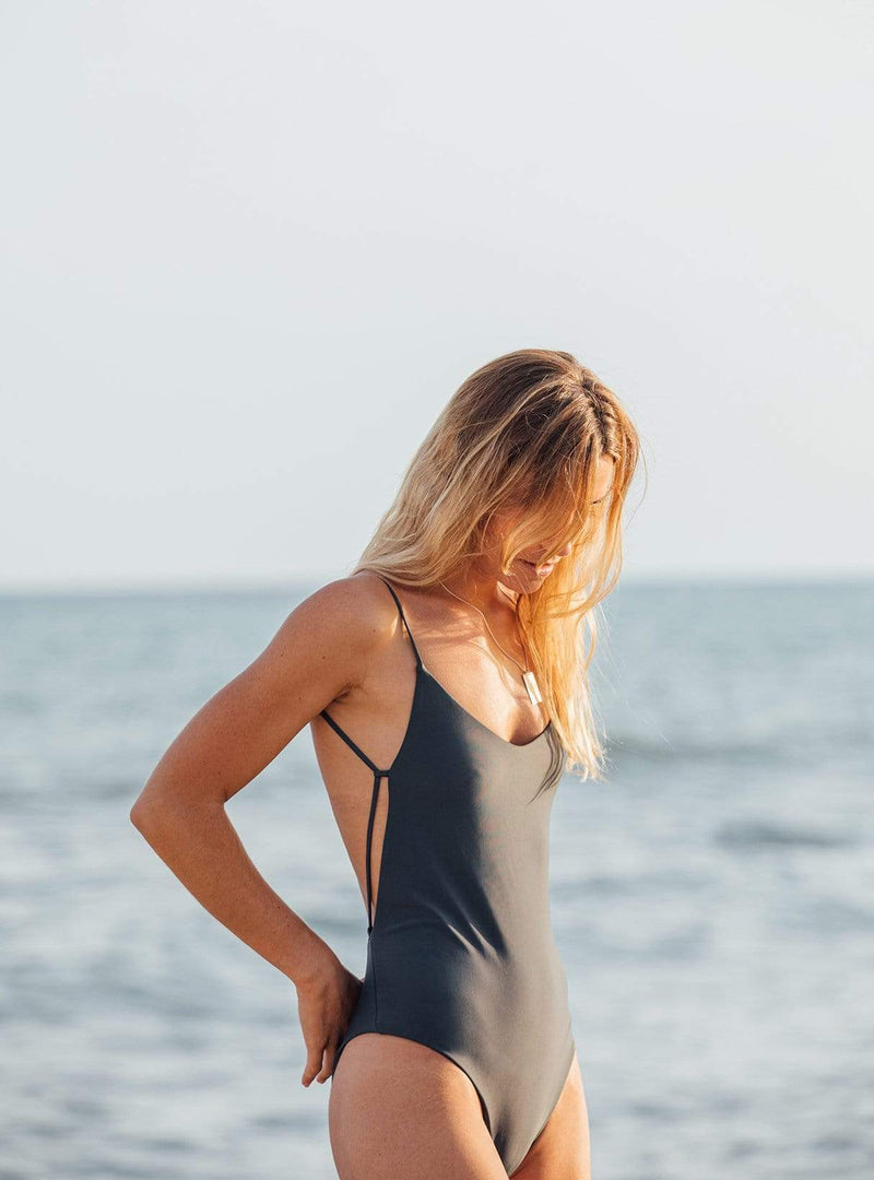 The onepiece swimsuit - after dark