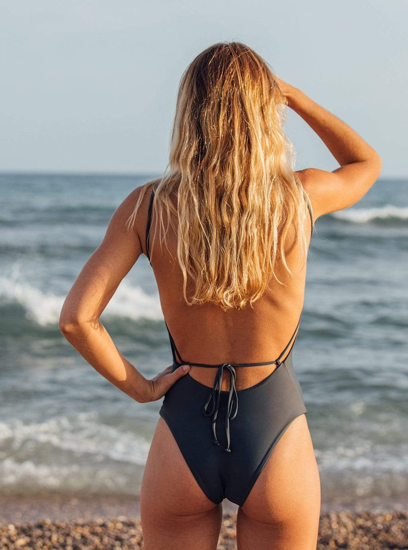 hans method Swimwear The onepiece swimsuit - after dark
