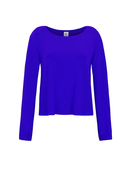 Pullover cosmos - electric blue