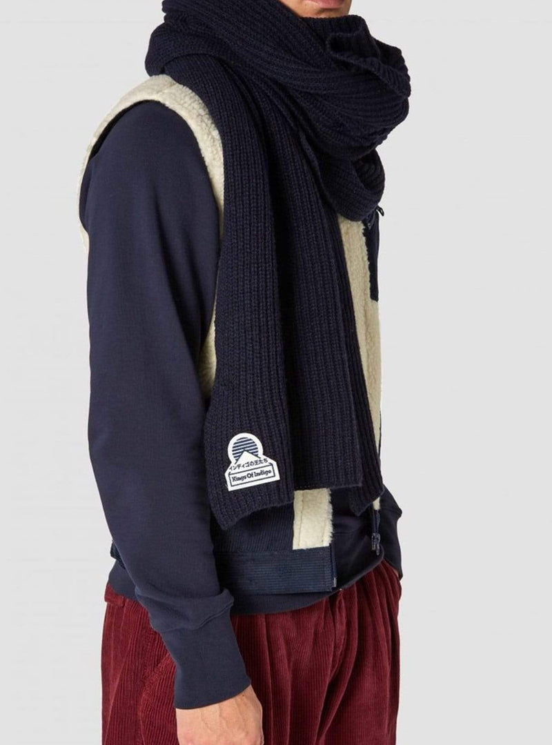 Kings of Indigo accessories Scarf - navy