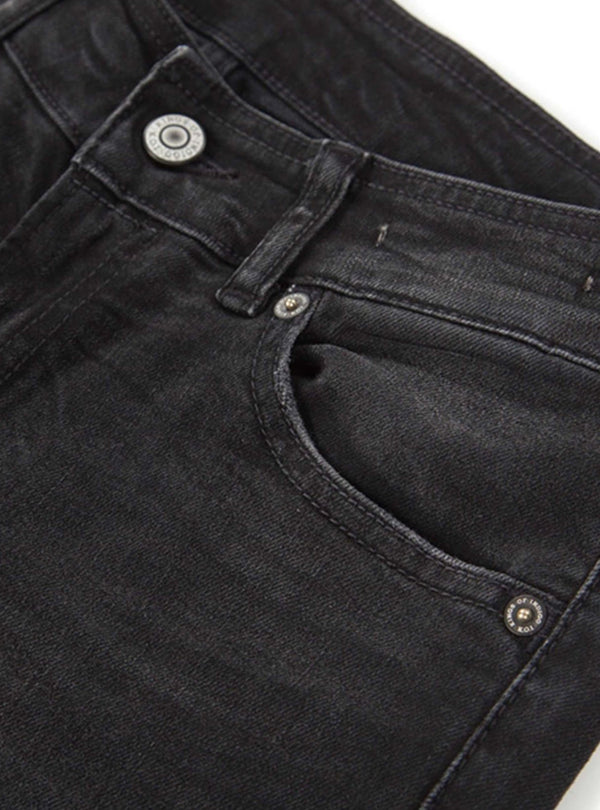 Kings of Indigo jeans 26/32 Juno - jeans - black worn in