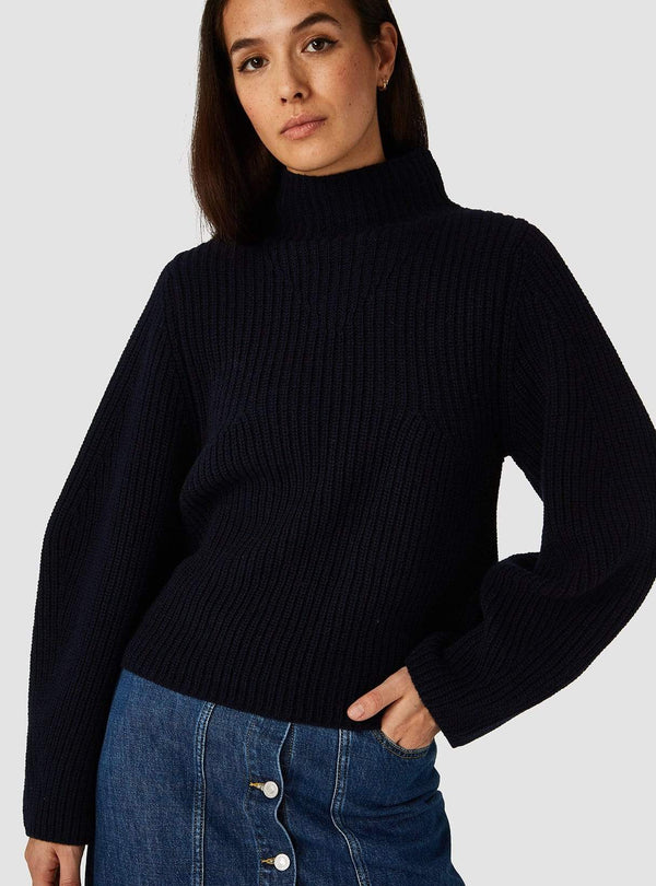 kings of indigo Womens jeans Hisa - sweater - navy