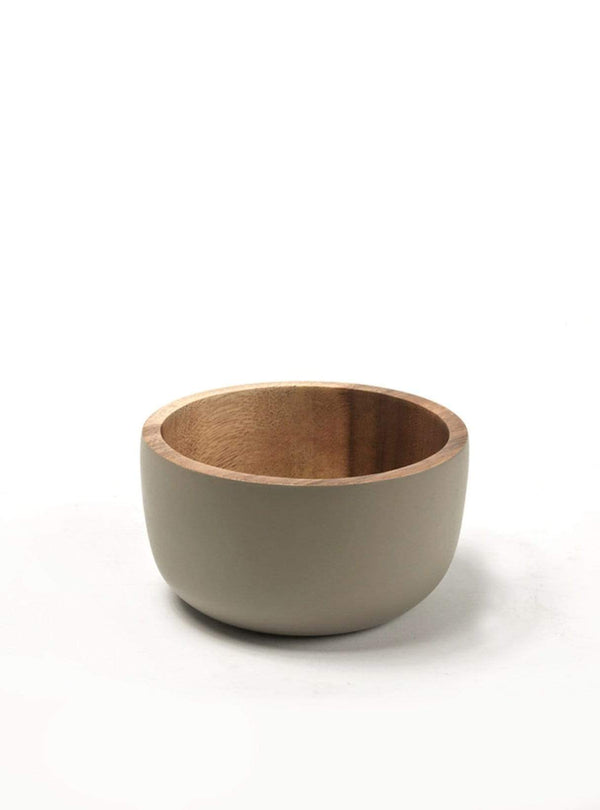 Kinta home Acacia wood bowl - rustic dull - 11cm