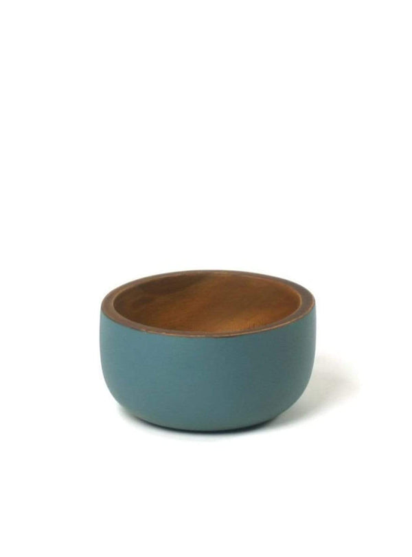 Kinta home Bowl - 11cm - rustic mat airforce blue