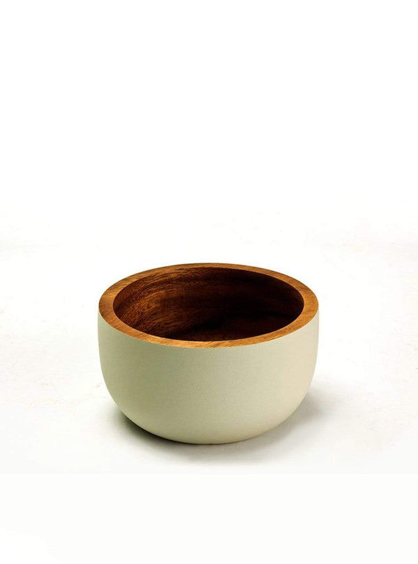 Kinta home Bowl - 11cm - rustic mat off white